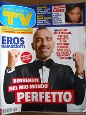 TV Sorrisi e Canzoni n°20 2015 Eros Ramazzotti Verdone Gabriel Garko [D46]