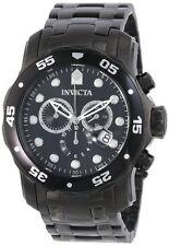Invicta Men's Pro Diver Quartz Chronograph Stainless Steel 200m Watch 0076
