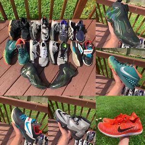 Lot Of 10 Nike Jordan Kobe Lebron Sneaker Shoe Bundle sizes 9-10.5 Foams