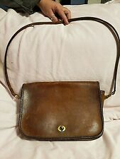 Vintage Coach Mens or Womens Messenger Leather Bag O41-9101 VERY NICE