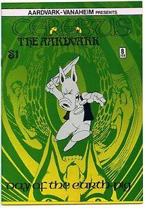CEREBUS THE AARDVARK #8 - 9.0, OW - HIgh grade!