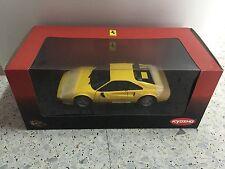 Ferrari 308 GTB Quattrovalvole Yellow Kyosho 1:18 No. 08182Y NEW RARE