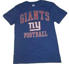 NFL New York Giants Football NFL Team Apparel T-Shirt Mens Size S Blue