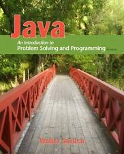 Java : An Introduction to Problem Solving and Programming by Savitch, Walter