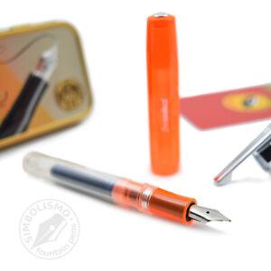 Pluma estilográfica Kaweco ICE Sport Orange F (fountain pen)
