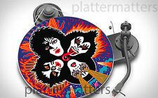 """Edición Limitada Record Collector's Kiss 7"""" o 12"""" pulgadas Plato Giratorio Plato Mat Nuevo"""