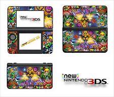 SKIN STICKER AUTOCOLLANT - NINTENDO NEW 3DS - REF 174 ZELDA