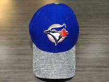 Toronto Blue Jays MLB Baseball 39thirty Flex Fit Hat Cap New Era Grey Blue M/L