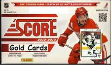 2012-13 Panini Score Hockey GOLD - Finish your Set! - Pick any 4 cards for .99