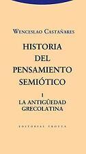 Historia del pensamiento semiótico. NUEVO. Nacional URGENTE/Internac. económico.