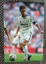 Raul signed Real Madrid legend 12x8 photo Image C UACC registered dealer COA