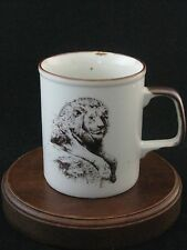 "San Diego Zoological Society ""Lion"" Mug Made in Japan"