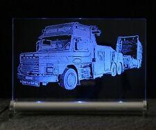 TRUCK CARRO ATTREZZI Scania come foto incisione LED-SCUDO