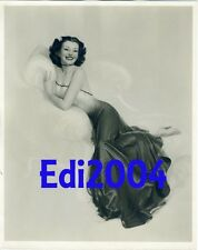 JEWEL FLOWERS Vintage Original Illustration PHOTO ROLF ARMSTRONG Sexy 40s PinUp