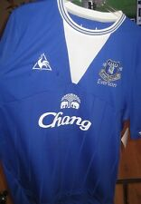 EVERTON - TIM CAHILL HAND SIGNED  SOCCER JERSEY + PHOTO PROOF & C.O.A