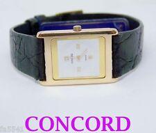 NOS Swiss 18k CONCORD Ladies Watch DELIRIUM 50.90.669 DM* ULTRA SLIM