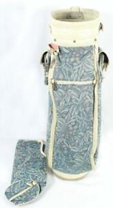 "Bennington Golf Club Bag Floral White 35""x15""x10"""