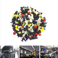 200 Pcs Car Fender Panel Bumper Clutch Assorted Plastic Rivet Fasteners Push Pin