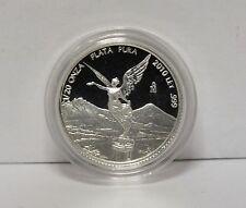 2010 Mexico Proof Libertad 1/20 Oz .999 Silver Coin 1/20 Onza Plata Pura