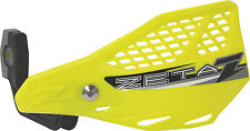 ZETA 1999-2009 TRX400EX Sportrax STINGRAY VENT HANDGUARDS FL-YELLOW ZE74-3107 Ho
