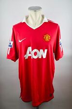 Manchester United Trikot Gr. XL #14 Chicharito Jersey Nike 2010/11 AON MUFC