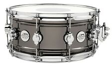 Dw Drums Drum Workshop 6.5x14 Design Series brass shell Black Nickel New