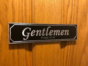 Braille Gentlemen: Urban-Chic Series, Polished Finish Metal Reveal