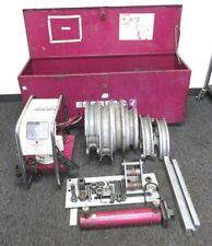 ENERPAC MINI-EEGOR HYDRAULIC PIPE BENDER. With ENERPAC EEJ341 PUMP