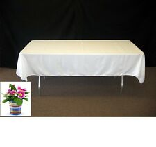 """5 Pc 60""""X 120"""" Inch Rectangular Polyester Table Cloth For Wedding party Catering"""