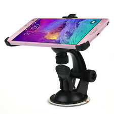 Car Accessory Suction Cup Mount Holder Stand For Samsung Galaxy Note4 Useful