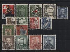 Bund 162-176 Jahrgang 1953 gestempelt (B05327)