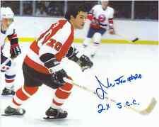 "Jim Watson Autographed Philadelphia Flyers 8"" x 10"" Photo w/COA Certification."