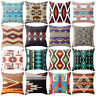 WR_ RETRO ETHNIC WAIST THROW PILLOW CASE SOFA CUSHION COVER HOME DECOR GIFT KAWA