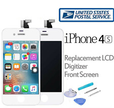 iPhone 4S LCD Touch Screen Digitizer Front Glass Replacement Assembly White Tool