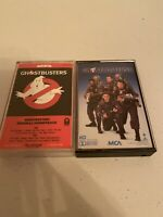 GHOSTBUSTERS 1 & II Movie Soundtracks Album Cassette Tapes MCA Nice Test Played!