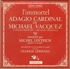"MICHEL DINTRICH ""ADAGIO CARDINAL"" GUITARE CLASSIQUE 60'S EP BARCLAY 79.023"