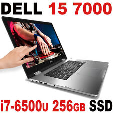 "4K DELL Inspiron 15 7000 i7 8GB 256GB SSD 4K UHD (3840x2160) 15.6"" Touch BT"
