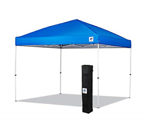 NEW E-Z UP Envoy Instant Shelter Canopy 10 by 10' Royal Blue