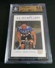 "(Lance Armstrong) 1992 IMPEL RC << BGS 9.5 >> ""U.S. Olympic Hopefuls"" #31"