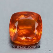 MEXICAN FIRE OPAL 6 MM CUSHION CUT ALL NATURAL BEAUTIFUL COLOR