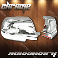 For 2016-2018 Chevrolet Suburban 3500 HD Chrome Top Half Mirror Cover Overlay x2