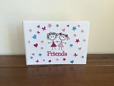 New Girl Friends Photo Album/Brag Book Gift Holds 24