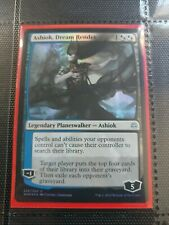 MTG Magic the Gathering Ashiok, Dream Render FOIL War of the Spark x1 See Photos