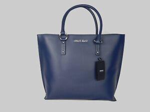 Brand NEW Genuine Armani Jeans Blue Large TOTE handbag