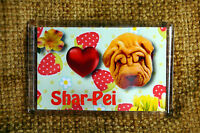 Shar Pei Gift Dog Fridge Magnet 77x51mm Sharpei Birthday Mothers Day Gift