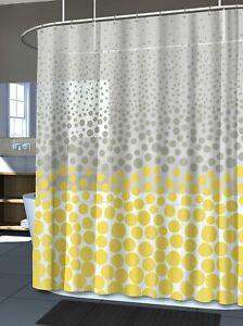 "New Splash Home CRUMBLE Shower Curtain 70"" x 72"" PEVA Vinyl NEW"