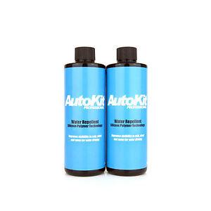 AutoKit Rain Water Repellent Windscreen Washer Additive Visors Mirrors 1 Litre