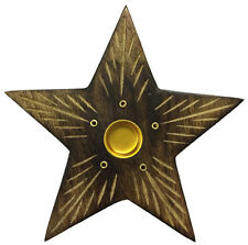Incense Wood Burner Star, Incense Burner ,Sticks,Cone Free Shipping