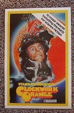 Clockwork Orange #2 Lobby Card Movie Poster