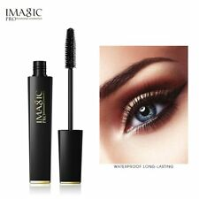 IMAGIC 4D Silk Fiber Mascara Waterproof Extended Thick Long Curly Eyelashes Blac
